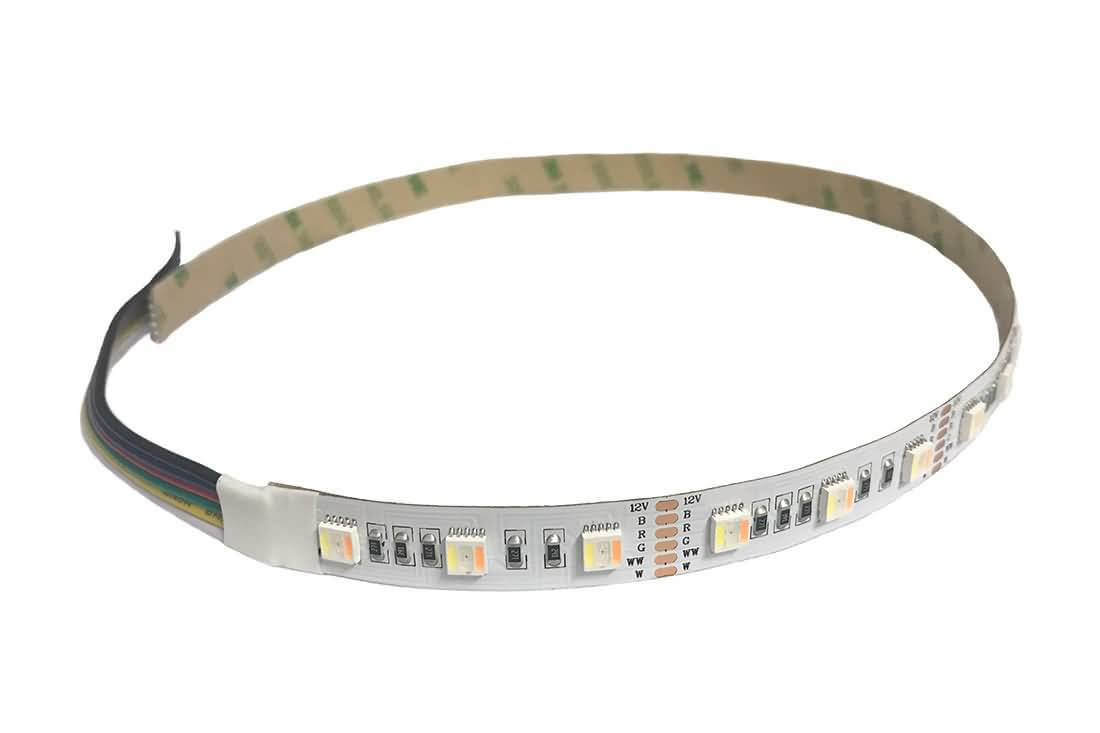 SMD 5050 LED Strip 5 In 1 RGBWWW Two Color Temperature+RGB