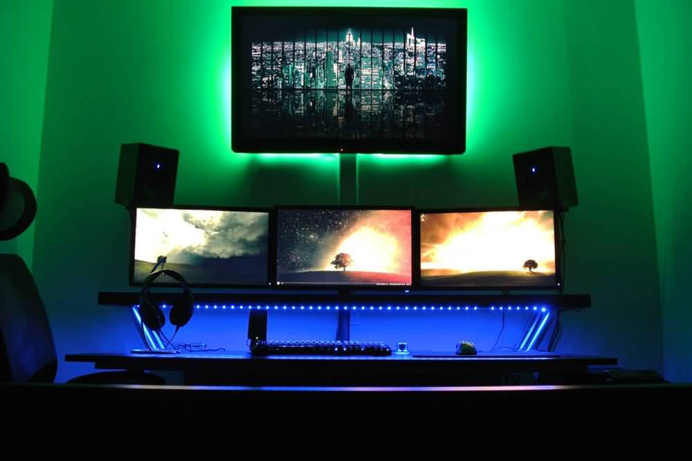 PC Monitor Home Theater Decoration