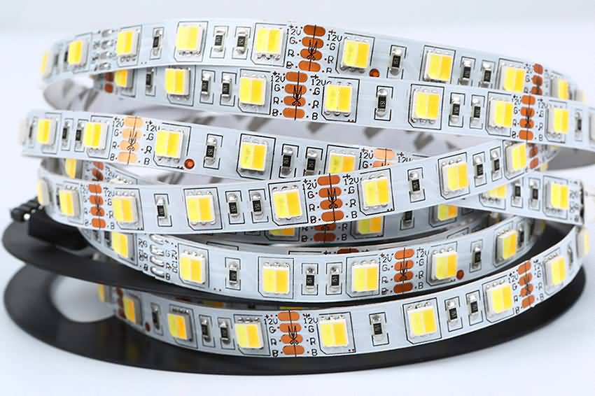 Dual Color Temperature 2 In 1 LED Flexible LED Strip Light