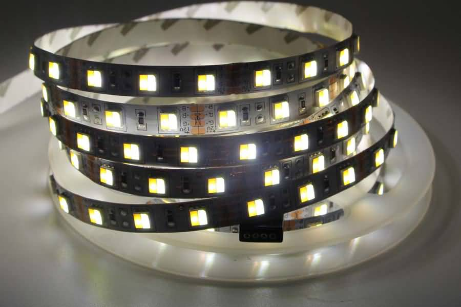 Dual Color Temperature 2 In 1 SMD 5050 LED Flexible Strip Light