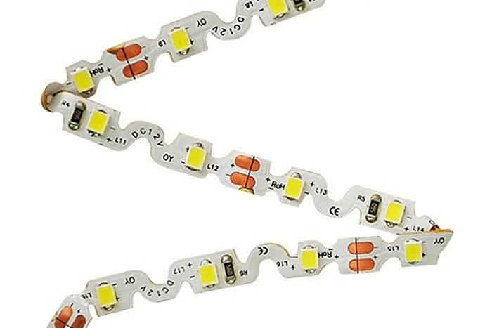 S Shape LED Strip Light Bendable Contour Lighting