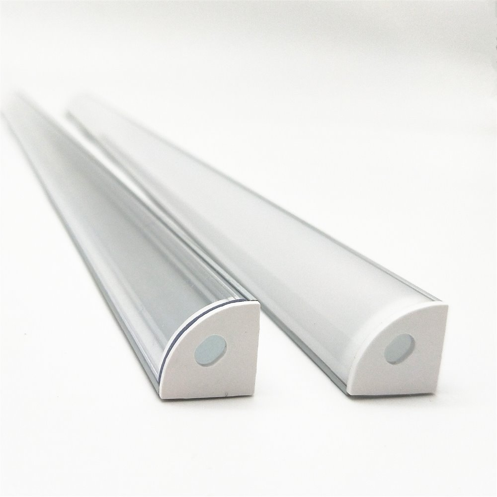 5-20pcs-50cm-led-bar-light-housing-V-shape-Triangle-Led-aluminum-profile-mikly-clear-cover