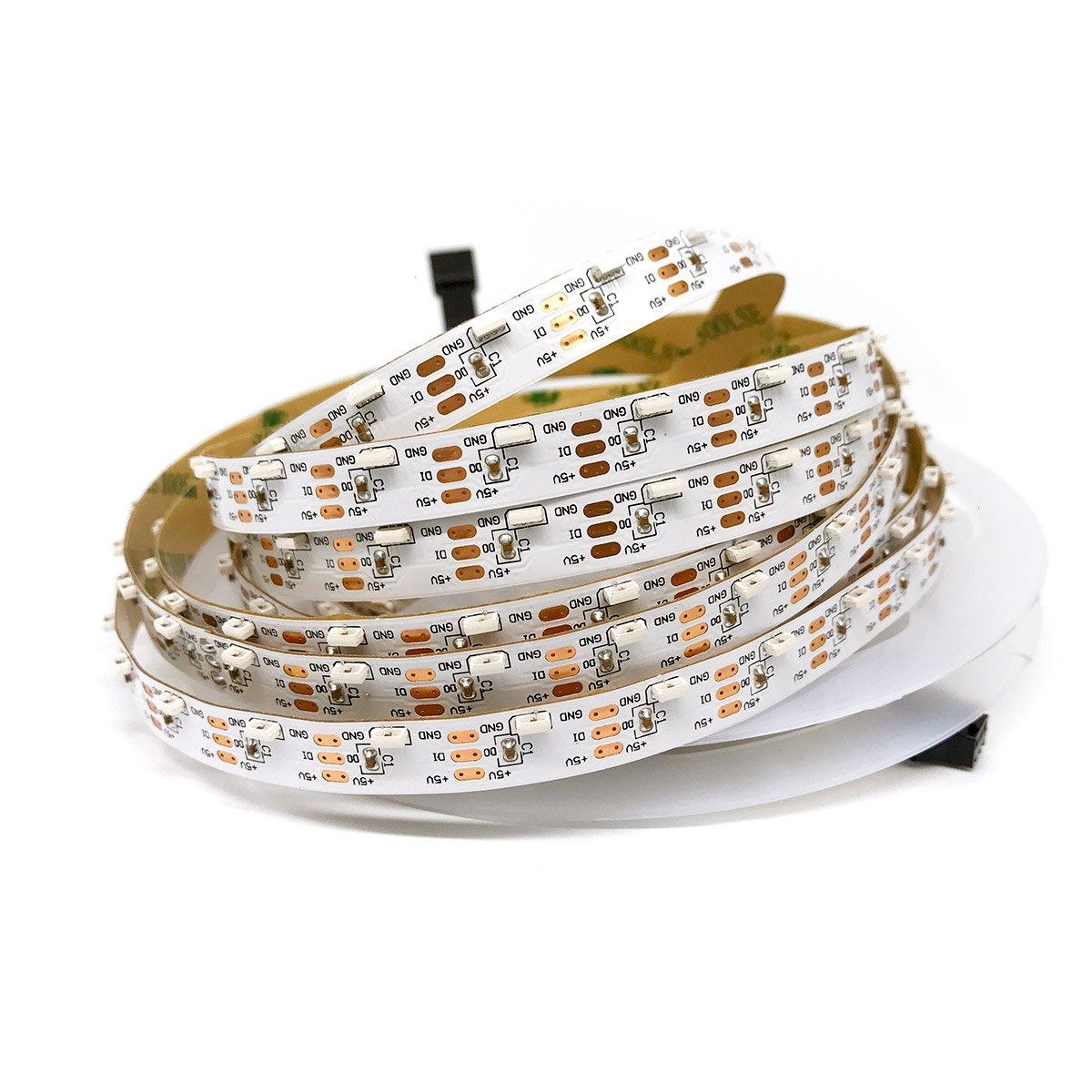 5v 60leds/m 4020 Side Light SK6812 Addressable RGB LED Strip Programmable ws2812b