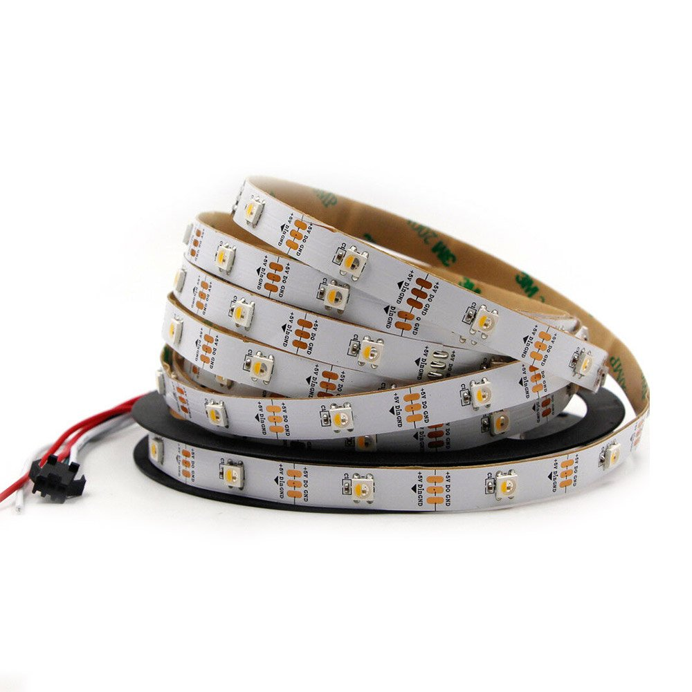 5v 30leds/m SK6812 RGBW Digital LED Strip Light Built-in IC